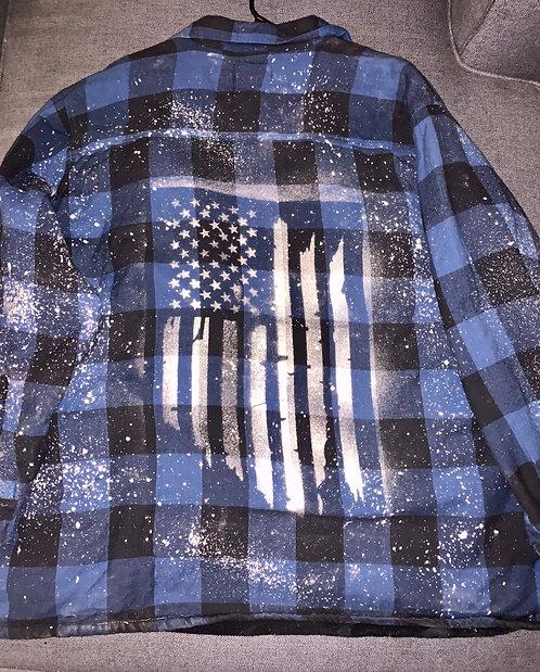 American Flag - Men's 2XL (jacket)