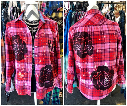ROSES FLANNEL