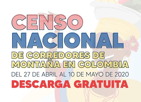 Censo Nacional de Corredores