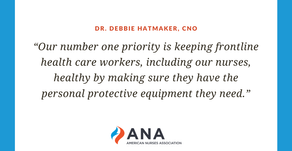 Tell Congress to increase personal protective equipment (PPE) distribution now
