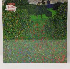 """$21.00  """"Poppy Field"""", 1907 by Gustav Klimt"""