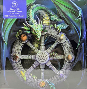 """$21.00 """"Year of the Magical Dragon"""" by Anne Stokes"""