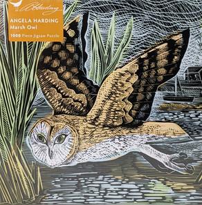 $21.00  Marsh Owl by Angela Harding