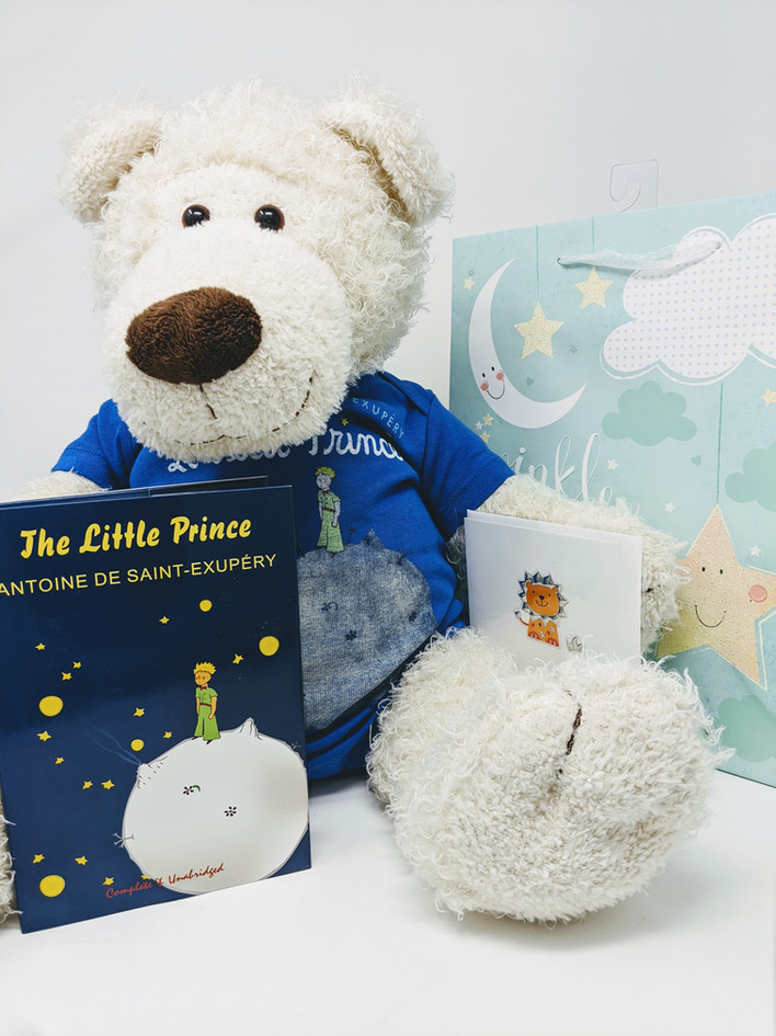 Out of Print Onesee's and Little Prince Gift Package