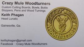 Crazy Mule Woodturners