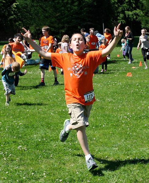 Orange Ruler fu run events for elemntary schools
