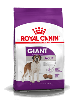 Royal Canin Giant Adult from 18/24 months old.