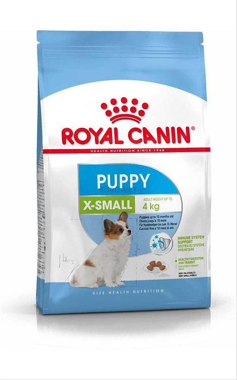 Royal Canin X-Small Puppy For very small dogs & Up to 10 months old.