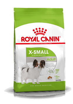 Royal Canin X-Small Adult For very small dogs up from 10 months - 8 years old