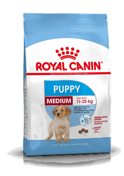 Royal Canin Medium Puppy for medium puppies from 2-12 months old