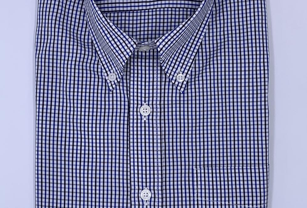 Camisa Sport cuadros algodón egipcio