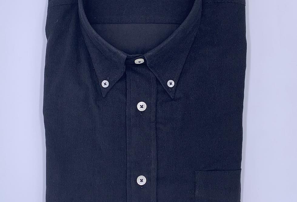 Camisa de microrpana negra.