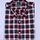 Thumbnail: Camisa de cuadros flanella melange.