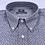 Thumbnail: Camisa gris estampada twill e hilo melange. Edición limitada.