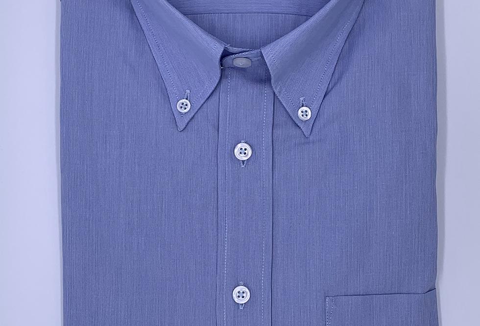Camisa sport mil rayas azul