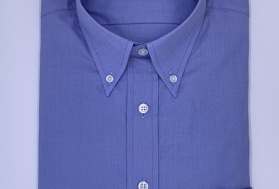 Camisa Sport fil a fil azul