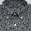 Thumbnail: Camisa estampada popelín verde caqui con flores. Edición limitada.