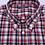 Thumbnail: Camisa Sport cuadros rojo gris y blanco