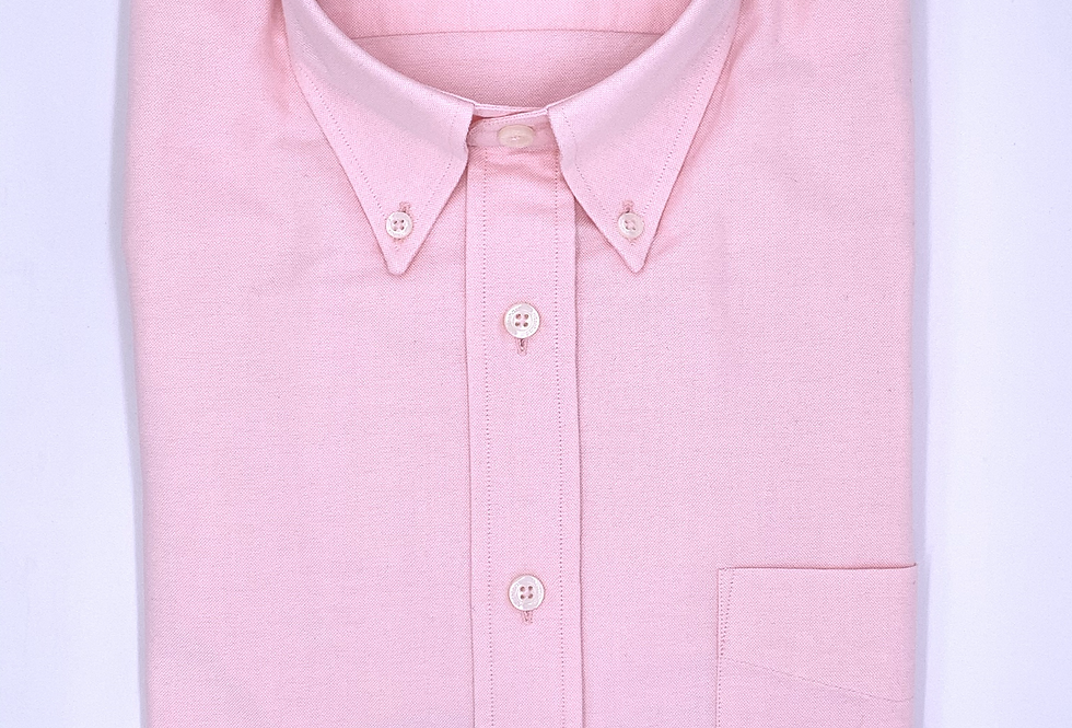 Camisa Oxford rosa