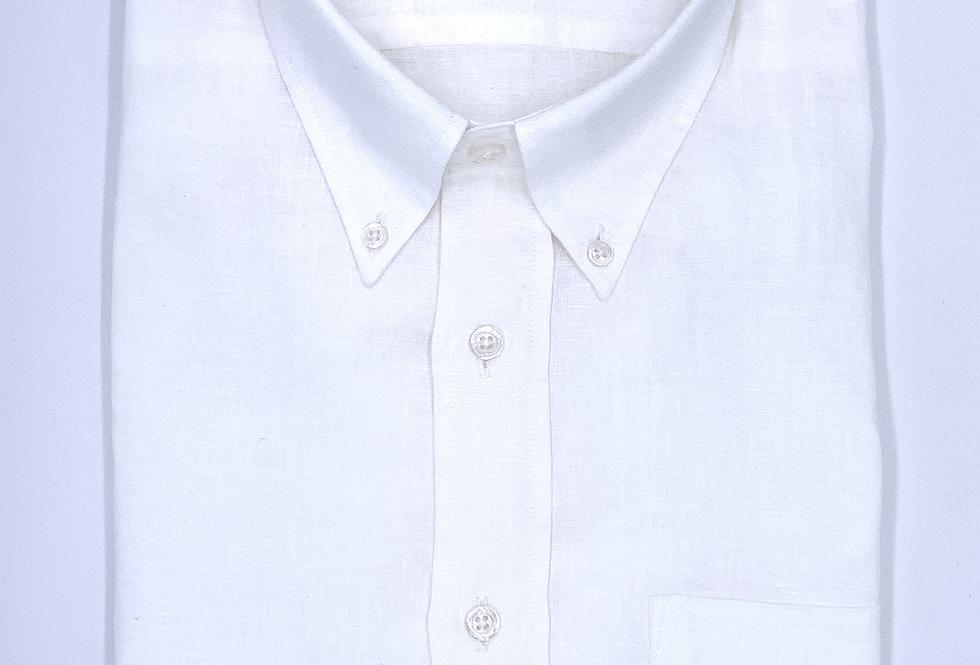 Camisa de lino Blanco