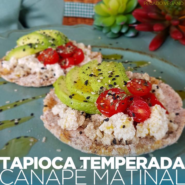 TAPIOCA TEMPERADA