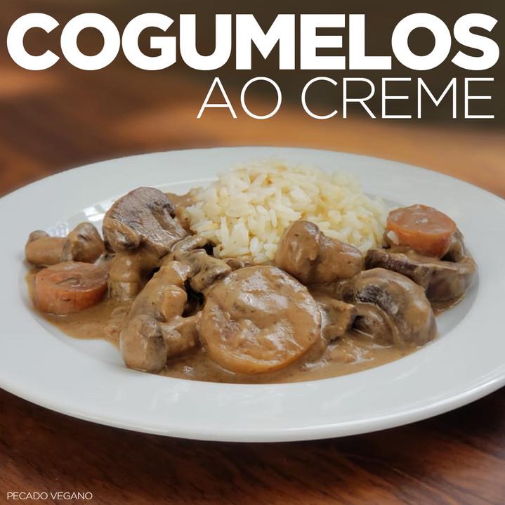COGUMELOS AO CREME