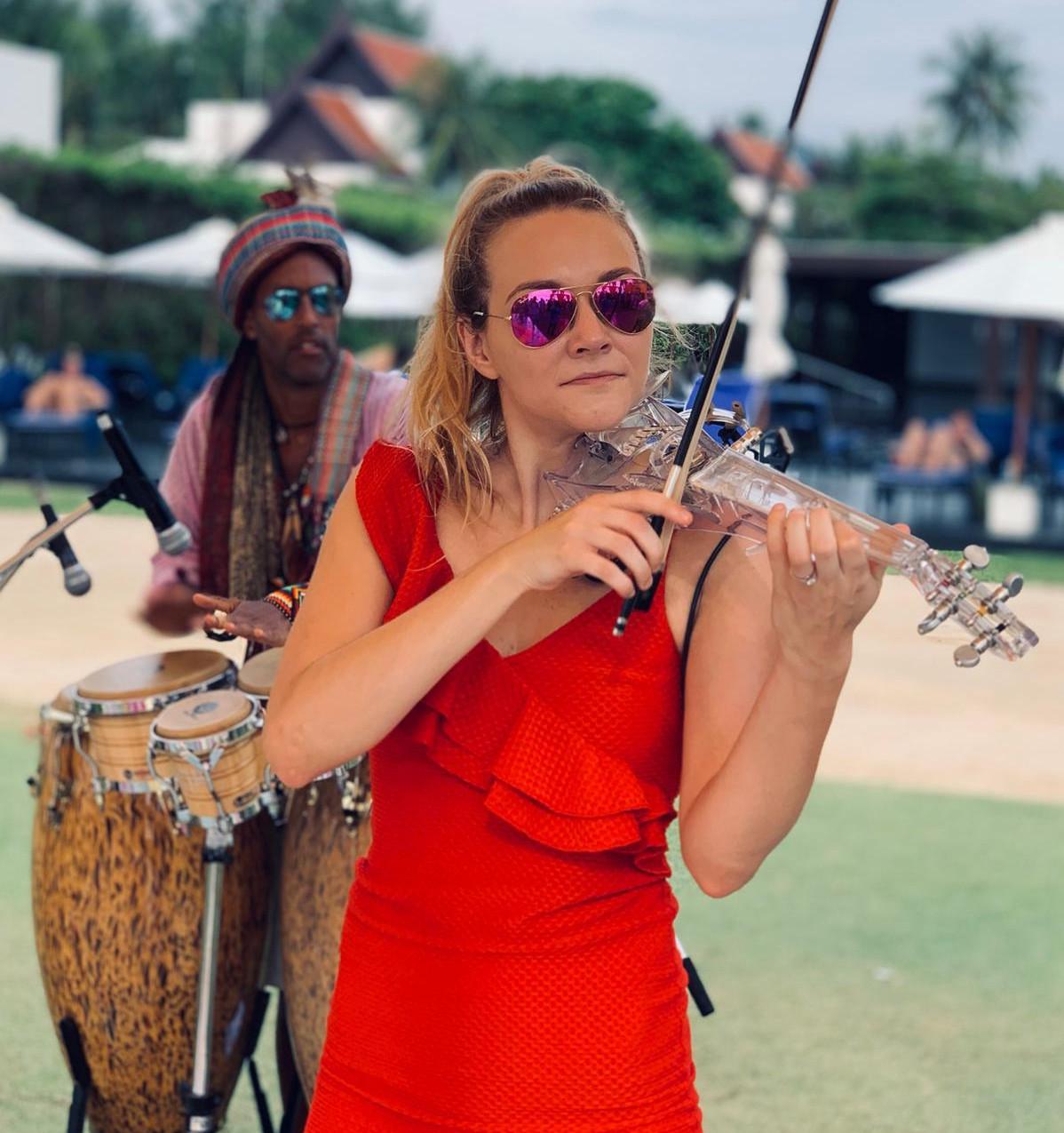 Sally Potterton Violinist