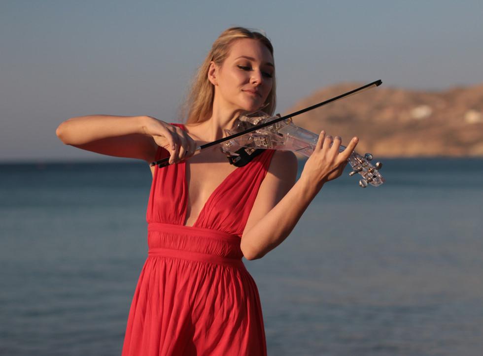 Electric Violinist Sally Potterton