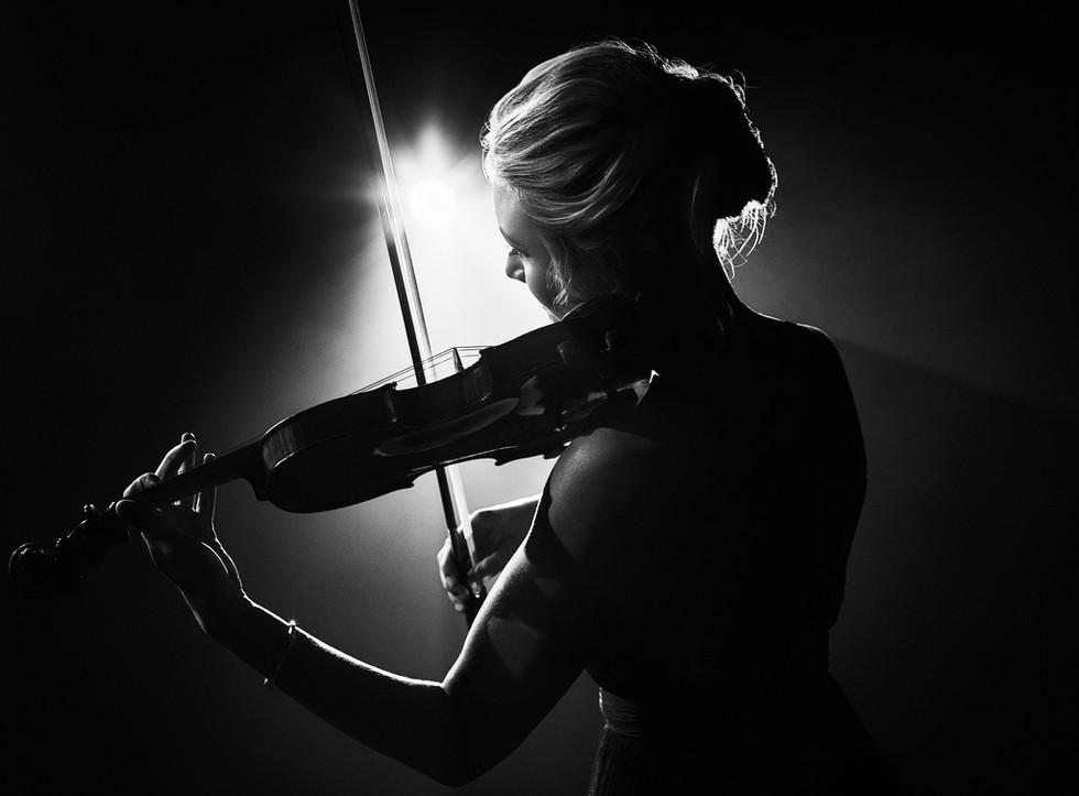 Event Violinist Sally Potterton