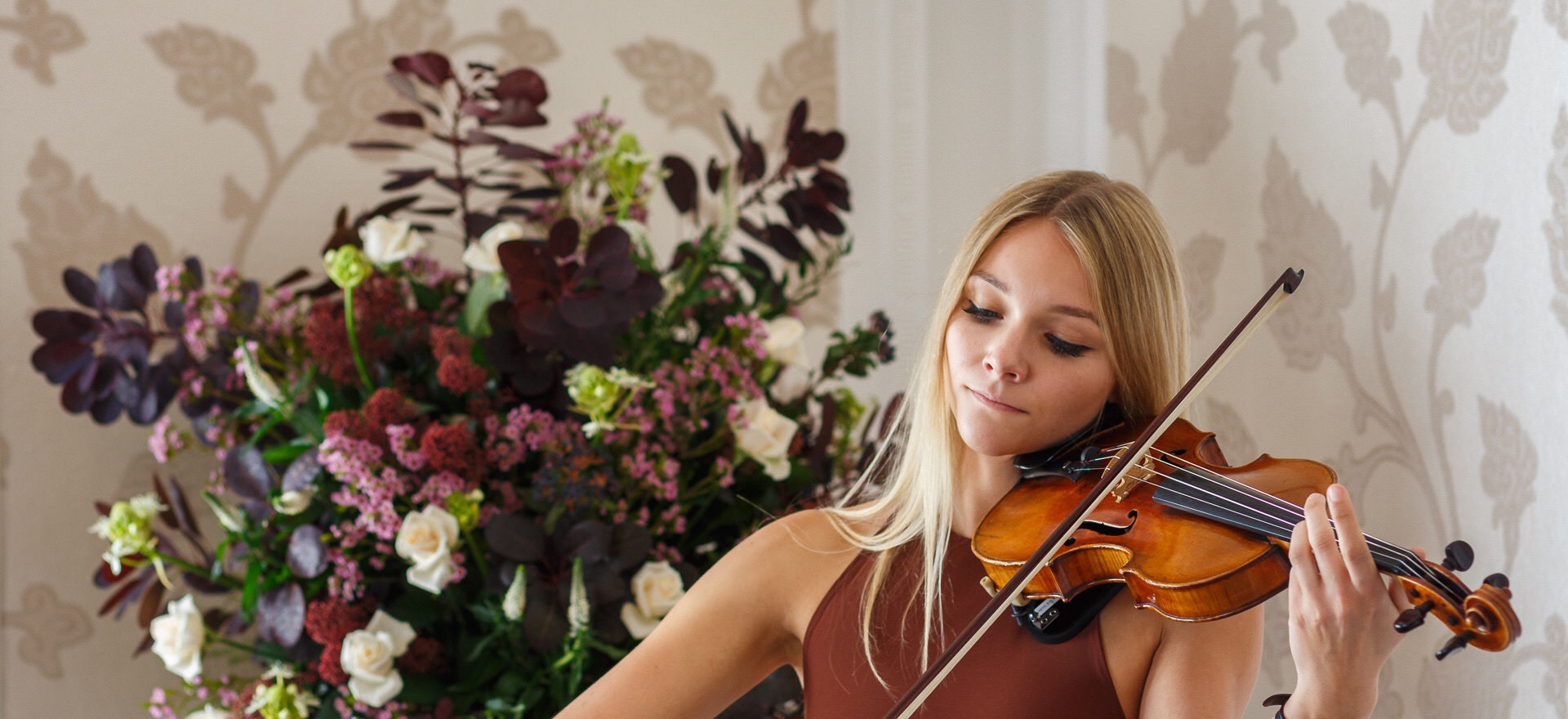 Wedding Violinist Sally Potterton