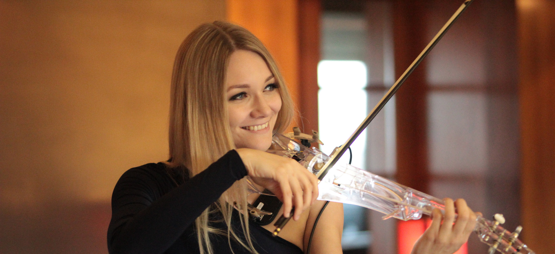 Electric Violinist Sally Potterton