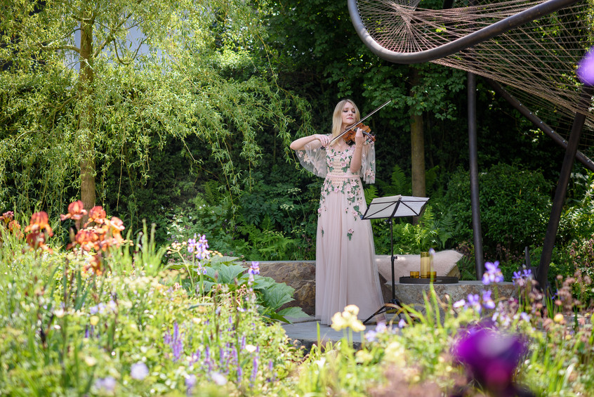 Classical Violinist Sally Potterton
