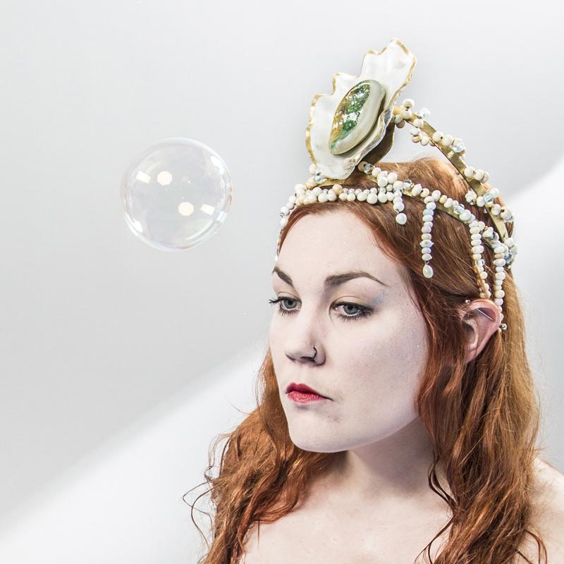 La reine des huîtres au bain