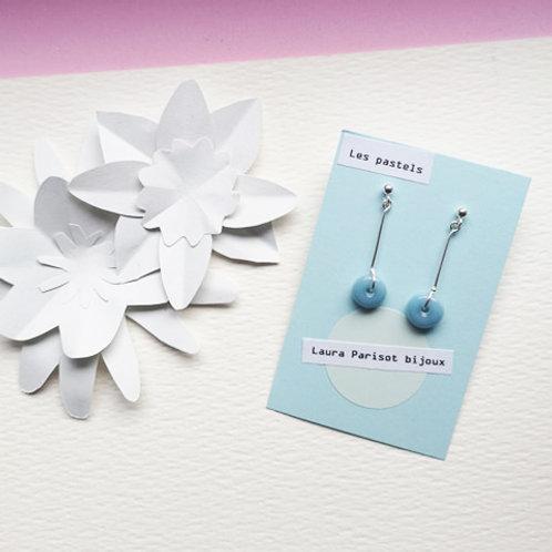 Boucles d'oreilles Les Pastels - Les puces