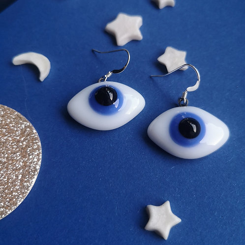 Boucles d'oreilles Oeil