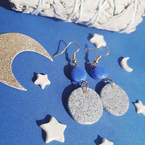 Boucles d'oreilles Full Moon