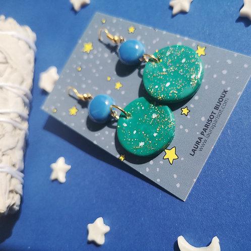 Boucles d'oreilles Full Moon - Les astrales