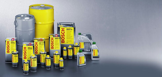 disc brakes, brake pads, Brake and Hydraulic Fluids from Bosch