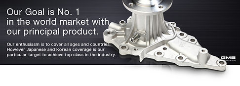 gmb water pumps, water pumps in turkey, motor water pumps, engine water pumps, turkish exporter auto spare parts