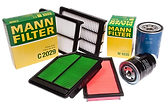 Air filters, oil filters, fuel filters, cabin filters, mann filters in turkey
