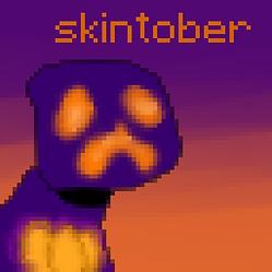 skintober title