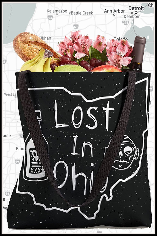 Web Tote Bag Lost In Ohio Classic Main D