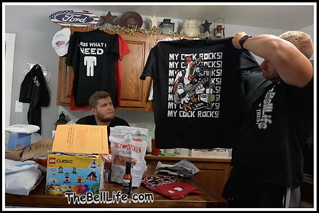 The bell life boys Treys Tshirt My cock rocks thsirt design by Ruftup designs bell mail 80