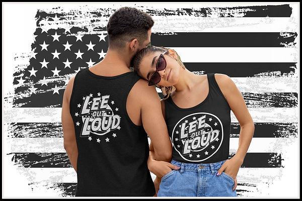 Lee OUT LOUD WEB B&W Logo Design US flag 1500x1000..jpg