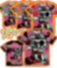 Skate or Die Graffiti Design All Over Print Tshirt Ad
