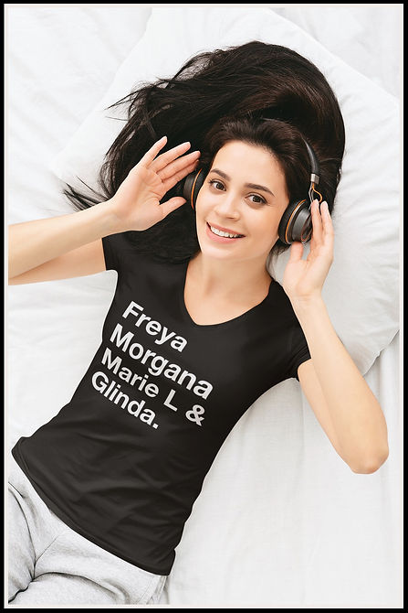 Freya Morgana Marie L & Glinda Ruftup De
