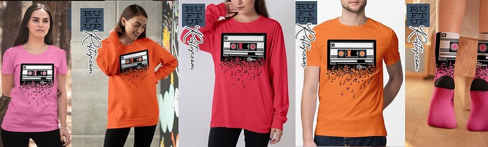 Retro Cool Audio Cassettes Eighties Apparel Design