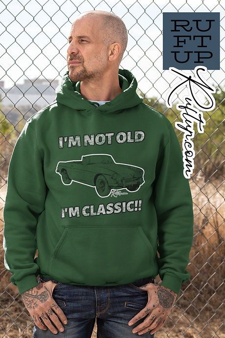 Im-Not-Old-Im-Classic-pullover-hoodie-mockup-featuring-a-tattooed-biker