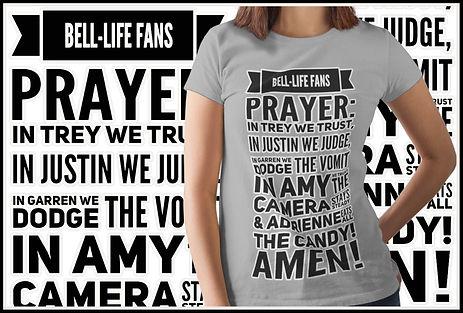 The Bell Lifes Fans Prayer Ruftup Design Creation