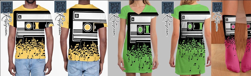 Retro Cool Audio Cassettes Eighties Apparel Design